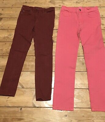 Girls Jeans Trousers Bundle Joules Boden Age 9-10 Years