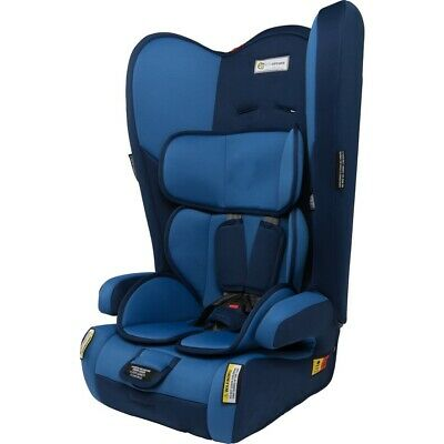 InfaSecure Rally Convertible Booster Seat - Blueberry