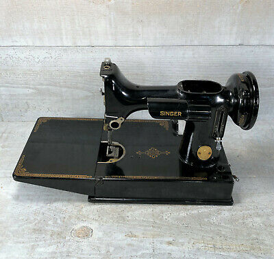 SINGER Featherweight 221 Sewing Machine Body Hull Frame Parts Restoration 1947