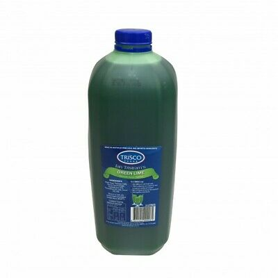 NEW Green Lime Milkshake & Topping Syrup - 3L - EA - Kent Paper