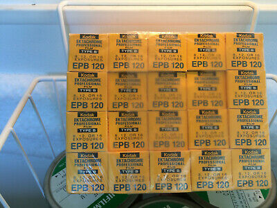 20 rolls - 120 slide film (E4) - Kodak Ektachrome Type B EPB - sealed - FROZEN