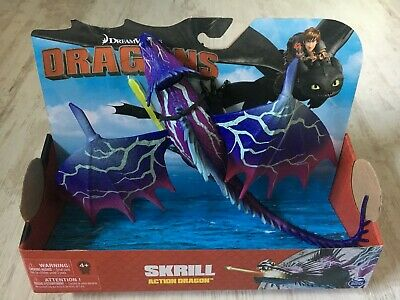DRAGONS Drache - Skrill (purple) - How To Train Your Dragon NEU in OVP rar MISB