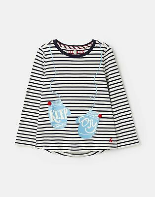 Joules Girls Bessie   Screenprint T Shirt 1 12 Years in  Size 4yr