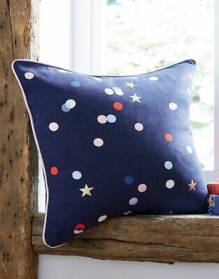 Joules Home Beau Cushion in NAVY CONFETTI in One Size