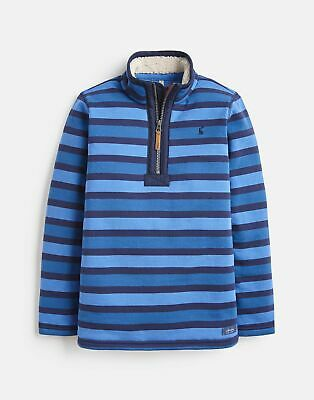 Joules Winterdale Fleece Lined Overhead 1 12 Years in BLUE STRIPE Size 1yr