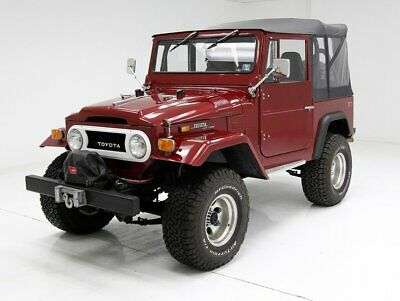 1971 Toyota Land Cruiser  Consigner Stated 6609 Miles Since Restoration  Laser Straight Panels 350 v8