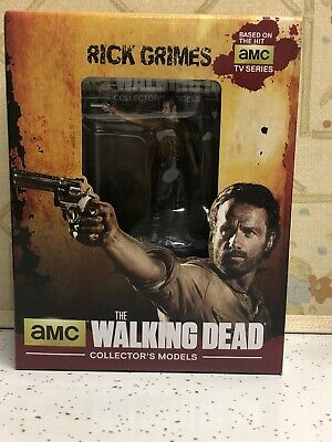 "#1 nouveau Eaglemoss The Walking Dead Collector/'s Models 3/"" Figure-Rick Grimes"