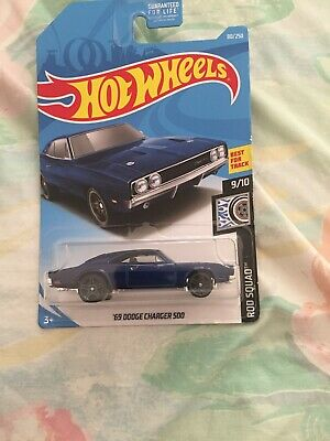 1969 dodge charger 500 Hot Wheels