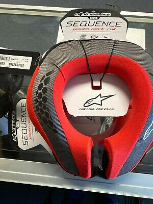 Alpinestars Sequence Neck Support Youth SM/MD Black/Red 6741018-13-S/M