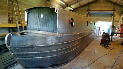 57ft narrowboat shell