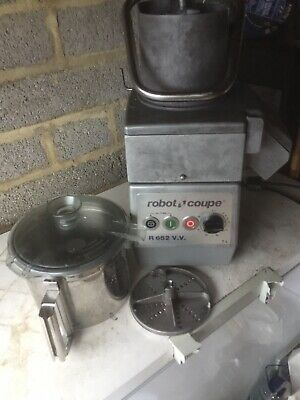 Robo Coupe Veg  Prep Machine In Very Good Condition Surplus To Requirements