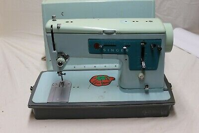 Singer Vintage Sewing Machine Made In Great Britain Model 347