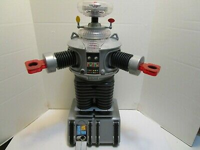 1998 Large 24 Inch Lost In Space B9 Remote Control  Robot Trendmasters No Remote