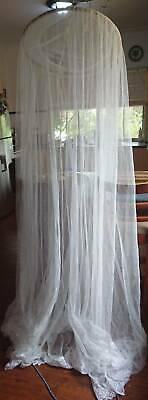 Mosquito hoop and net suite baby crib , cot or single bed