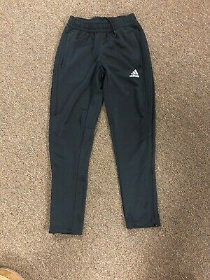 Boys Adidas Athletic Climacool Pants Size Small Black