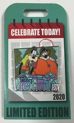 Disney Parks Celebrate Today National Plan for a Vacation Day LE 4000 Disney Pin
