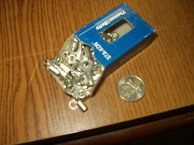 Box of 47 Thomas & Betts C10-8 Sta-Kon Ring Terminal Connector 12-10 AWG #8 Bolt
