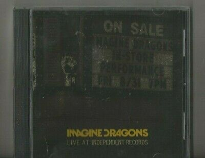 Imagine Dragons Live at Independent Records CD EP SEALED It's Time Radioactive