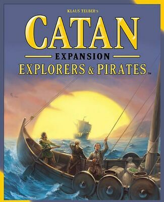 Catan Explorers & Pirates Expansion (2015) from Mayfair Games NEW MINT! 3075
