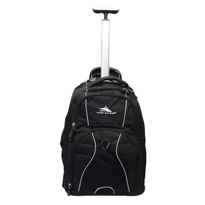 High Sierra - Freewheel 17inch Laptop Wheeled Carry-On Backpack - Black