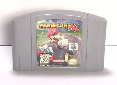 Mario Kart 64 for Nintendo 64 N64 - Super Mario Donkey Kong *TESTED* *AUTHENTIC*