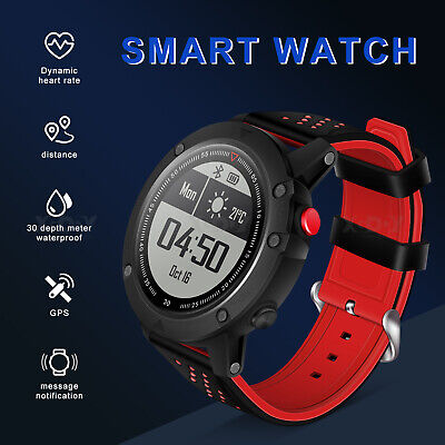 XGODY GPS Smart Watch Compass Fitness Tracker Sport Running Watch Pedometer New