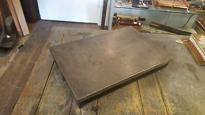 "Stunning Cast Iron Engineers Surface Plate 17 1/2 x 11 1/2"" 24587"