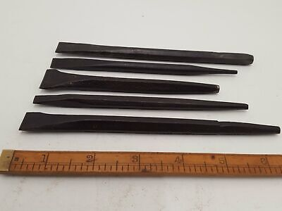 Bundle of 5 Nice Stone Masons Chisel 24182
