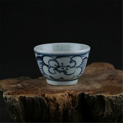 Chinese ancient antique hand make Wine Glass Porcelain Decoration a77