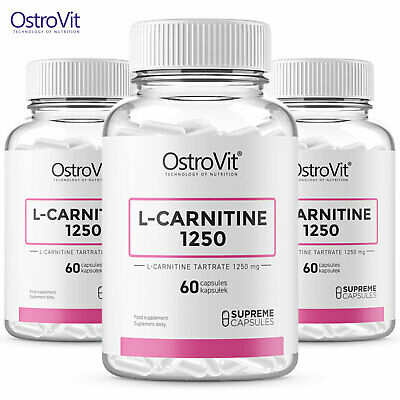 L-CARNITINE 1250 - Weight Loss Pills - Turns Fat Into Energy - Strong Fat Burner