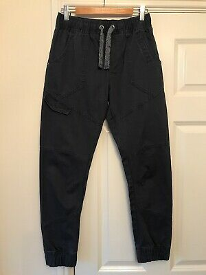 Boys M&S Navy Blue Cuffed Jeans / Trousers Age 12-13 Years