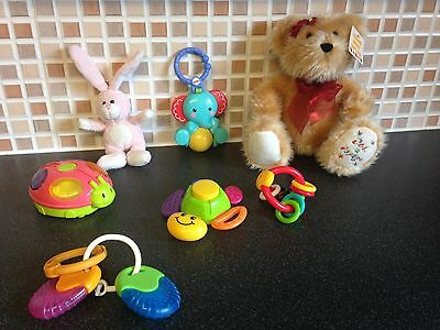 Bundle Of Preloved Toys/Rattles