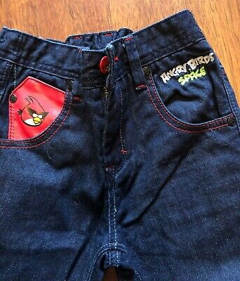 Next Boys Angry Bird Jeans - Age 7