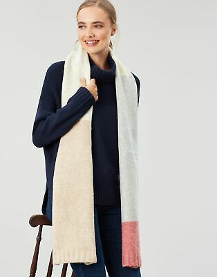 Joules Womens Snugwell Boucle Scarf - OAT in One Size