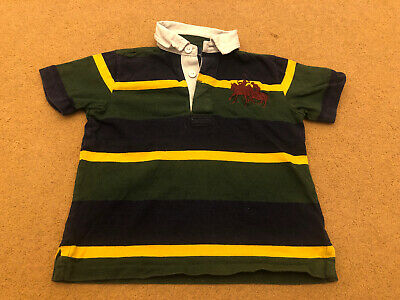 Polo Ralph Lauren 5 Years (4-5 Years) Boys Short Sleeve Polo Top Striped