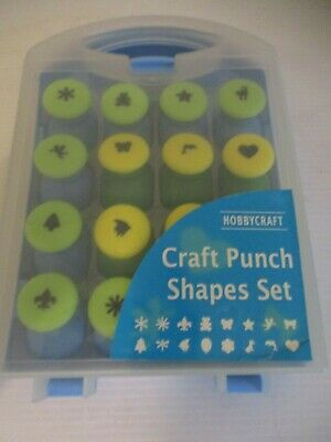 Hobbycraft Craft Punch Shapes Set Paper Punches Cardmaking