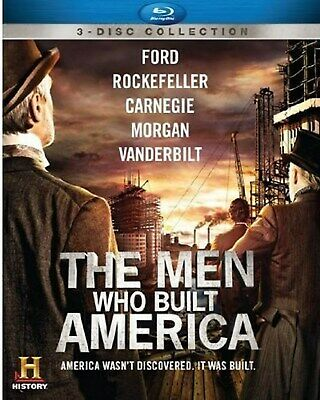 The Men Who Built America Blu-ray  NEW