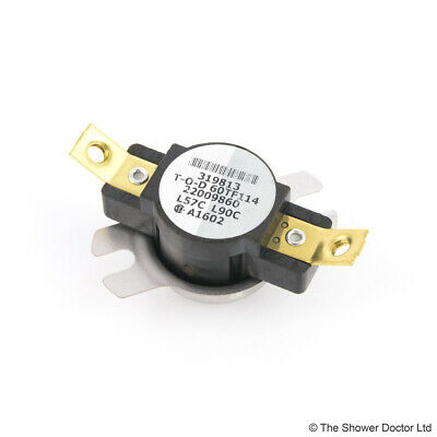 THERMAL CUT-OUT SWITCH L165c NC ELMWOOD HONEYWELL 2455R 8082-754 THERMOSTAT