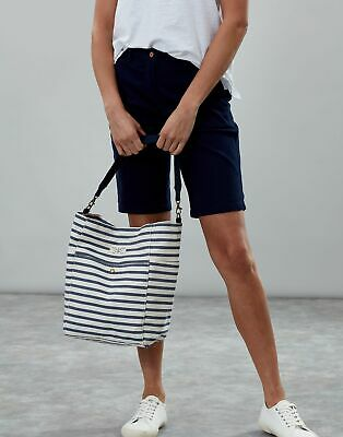 Joules Womens Wayfield Stripe Bucket Bag in BLUE STRIPE in One Size