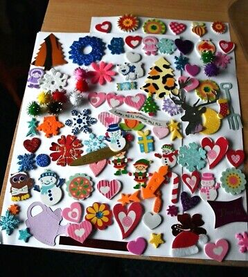 100 card toppers mixed  craft room clear out