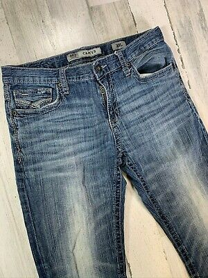 BKE Carter Jeans 33L 33x33 Straight Fit The Buckle