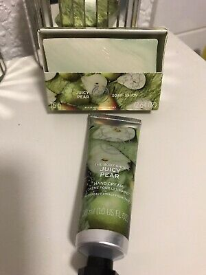 Juicy Pear Soap / Hand Cream Xmas Stocking Filler *the Bodyshop*