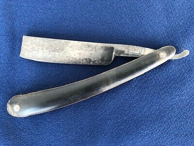 Antique Wade & Butcher Sheffield Straight Razor Barber Shaving Tool