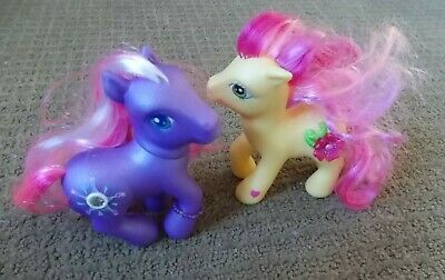 Pair of My Little Pony G3 Star Dasher and Royal Bouquet Figures