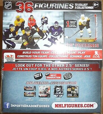 """NHL 2.5"""" Imports Dragon Series 4 Factory Sealed Case of 20 Blind Bags 2018-19"""