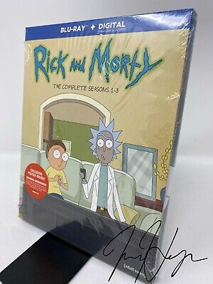 Rick and Morty: The Complete Seasons 1-3 (Blu-ray + Digital)