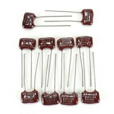 500V Price for 10 5/% Capacitor Mica Emelco 1000pF