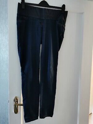 Next Blue Maternity Under The Bump Jeggings jeans size 10