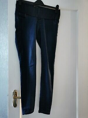 Next Blue Maternity Under The Bump Jeggings jeans size 8