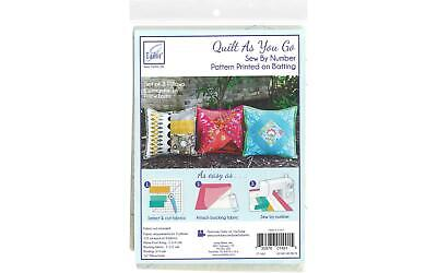 June Tailor Quilt As/Go C/P Pillow 3pc